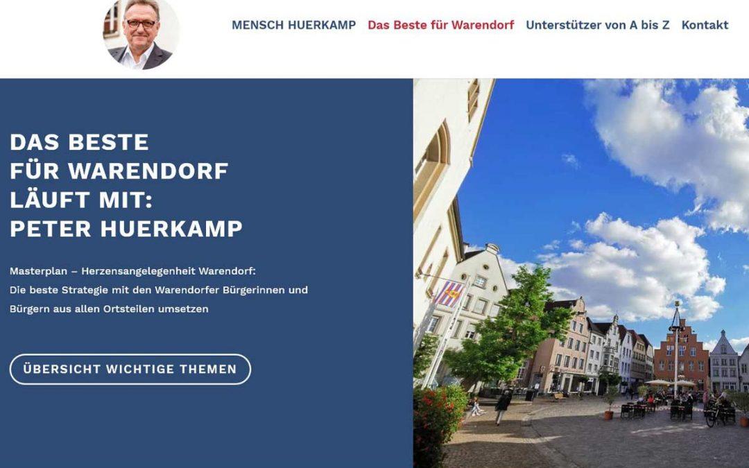 22.06.2020 In der Presse | Huerkamp präsentiert Website | Ein Herz für Warendorf