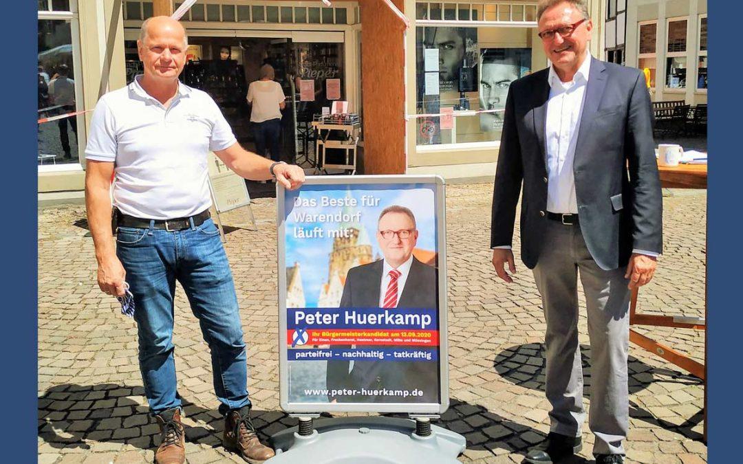 Kommunalwahl 2020 Veranstaltungsreihe Wer ist Peter Huerkamp?