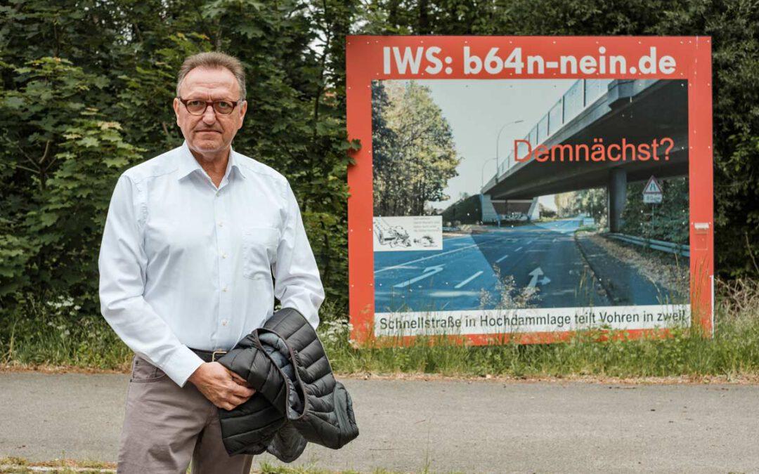 Bundesstraße B64n und Auswirkungen