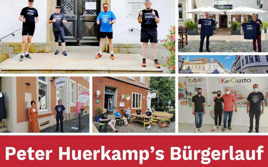 04.07.2020 Peter Huerkamps Bürgerlauf