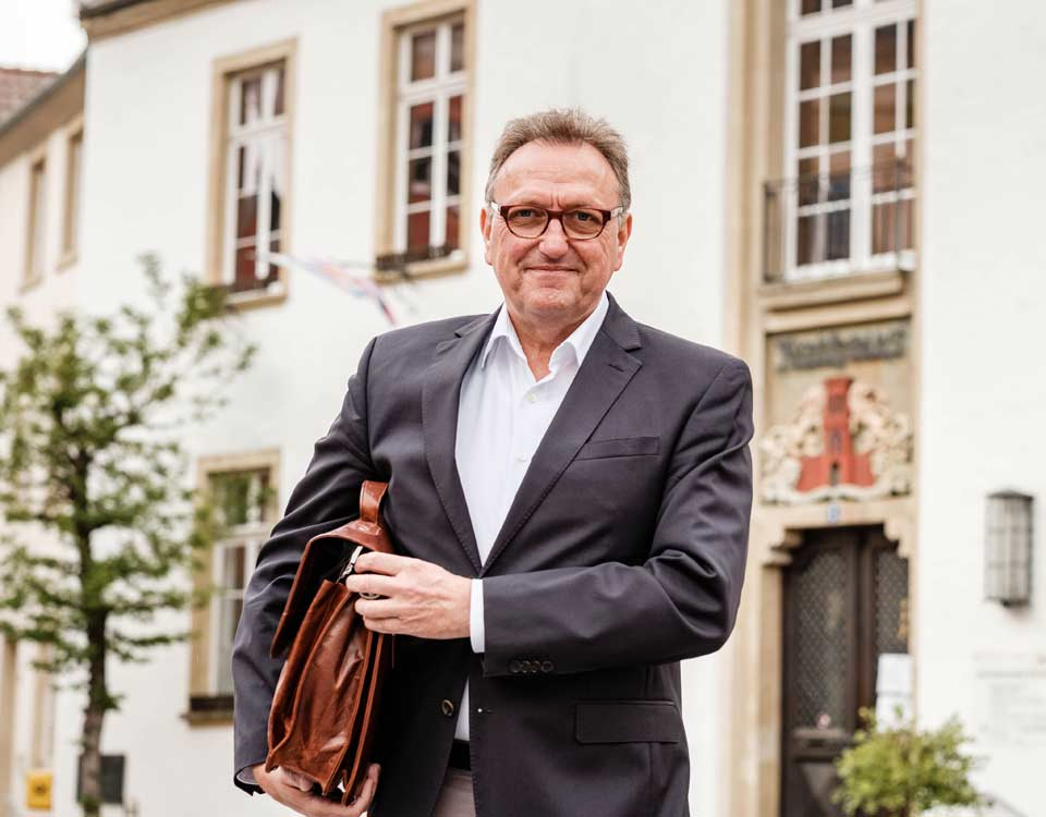 Peter Huerkamp Bürgermeisterkandidat für Warendorf 2020